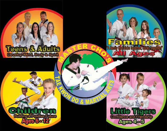 Go to Master Cho's Tae Kwon Do and Martial Arts Centers of Glen Allen and Richmond VA home page